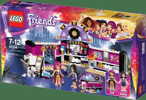 LEGO® Friends Šatňa pre popovej hviezdy