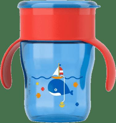 AVENT Kubek do nauki samodzielnego picia 260 ml – niebieski