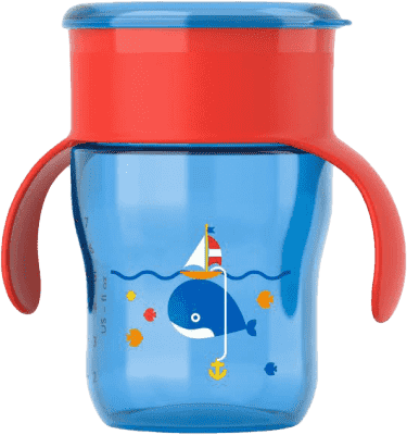 AVENT První skutečný hrneček 260 ml – modrý