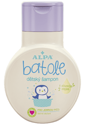 BATOLE Detský šampón s olivovým olejom 200  ml