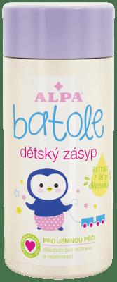 BATOLE Dětský pudr s extraktem olivy 100g - proti opruzeninám