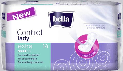 BELLA Control lady Extra 14ks - inkontinenční vložky
