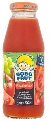 BOBO FRUT Pomidorek (300 ml) – Sok pomidor, winogrona i marchewka