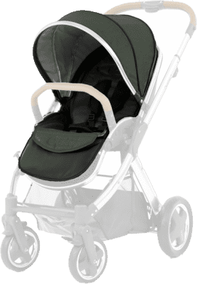 BABYSTYLE OYSTER 2/MAX Colour pack k sedací části kočárku, olive green 2018