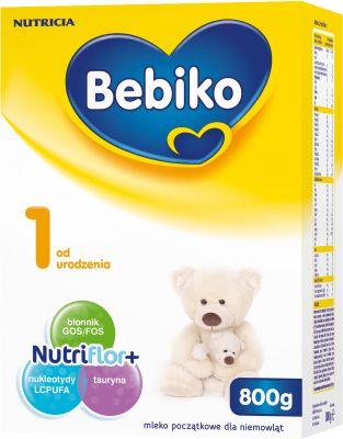BEBIKO 1 NutriFlor+ (800g) - Mleko modyfikowane od urodzenia