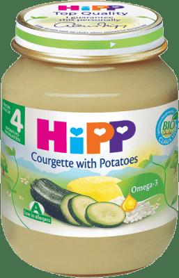HIPP BIO cuketa s brambory (125 g) - zeleninový příkrm