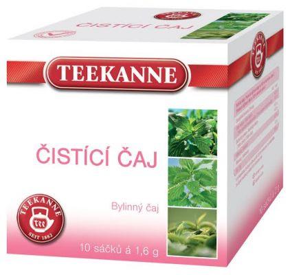 TEEKANNE bylinný čaj - čistiaci čaj, 10 sáčkov