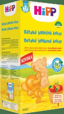 HIPP BIO Detské jablkové keksy 150 g