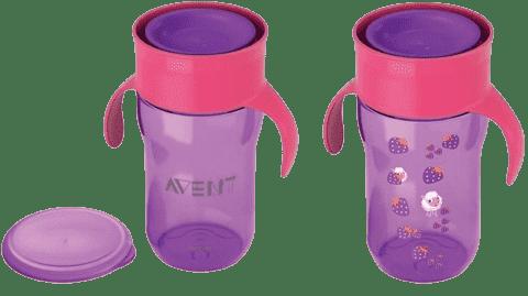 AVENT První skutečný hrneček 340 ml – fialový