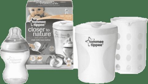 TOMMEE TIPPEE Cestovný sterilizátor na dojčenskú fľaša C2N-dievča