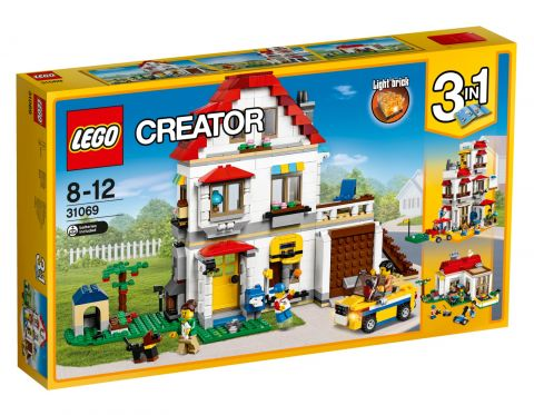 LEGO® Creator 31069 Rodzinna willa