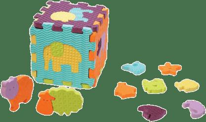LUDI Puzzle pěnové se zvířátky do vany