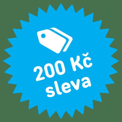 Slevový kupón 200 Kč (Feedo klub)