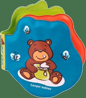 CANPOL Babies Mäkká knižka pískacia vyfarbovacie