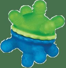 MUNCHKIN Modro-zelený kousátko - otáčivý ježeček