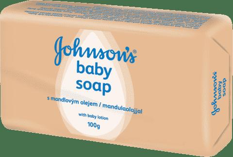 JOHNSON'S BABY Mydlo s mandľovým olejom (100 g)