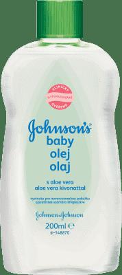 JOHNSON'S Olej s aloe vera 200 ml