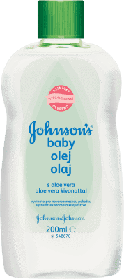 JOHNSON'S BABY Olej s aloe vera (200 ml)