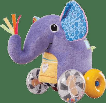 LAMAZE Jeżdżący słonik