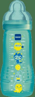 MAM Baby Bottle - Fľaša + cumlík veľ.3, 330ml modrá - náhodný motív