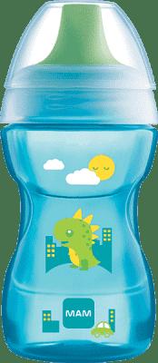 MAM Learn to Drink Cup - hrnček na učenie 8+ mesiacov, 270ml modrý - náhodný motív