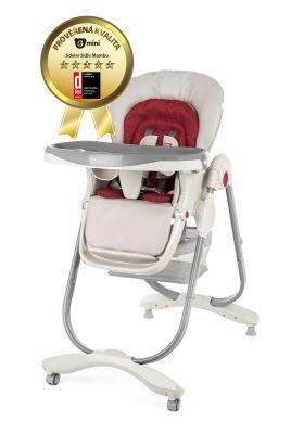 0fa79fe1b1fc G-MINI Detská jedálenská stolička Mambo – ruby