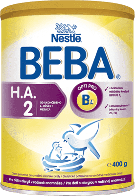 NESTLÉ BEBA HA 2 Protect plus (400 g) - kojenecké mléko