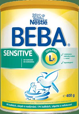 NESTLÉ BEBA Sensitive 400g - dojčenské mlieko