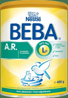 NESTLÉ Beba AR dojčenské mlieko proti grckaniu 400g
