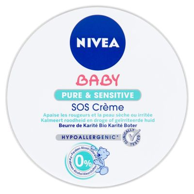NIVEA Baby Pure and sensitive SOS krém (150 ml)
