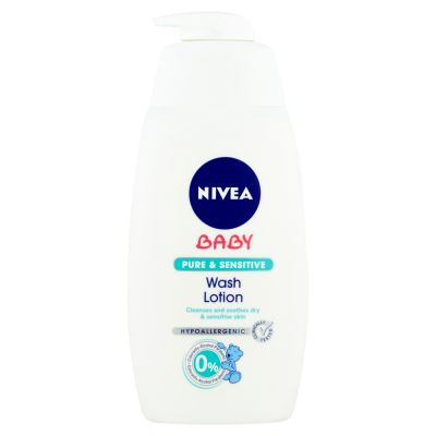 NIVEA Baby pure & sensitive umývací gél 500ml