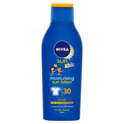 NIVEA Sun Detské mlieko na opaľovanie OF 30, 200ml
