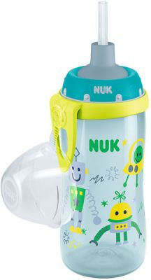 NUK First Choice Láhev PP Flexi Cup 300 ml, flexi pítko (24+ m) - kluk