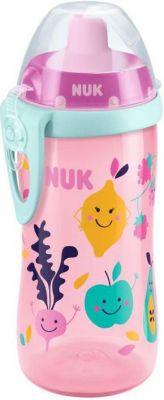 NUK First Choice Fľaša PP Flexi Cup 300 ml, flexi náustok (24+ m) – dievča