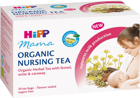 HIPP MAMA Bio čaj pre dojčiace matky 20x 1,5 g