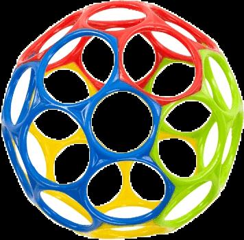 OBALL Hračka Classic 10 cm 0 m+ mix