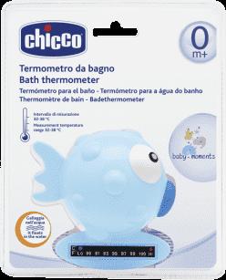CHICCO Teploměr Rybička, světle-modrá