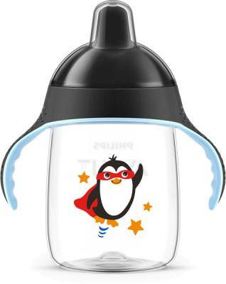 Philips AVENT Hrneček pro první doušky Premium 340 ml černý