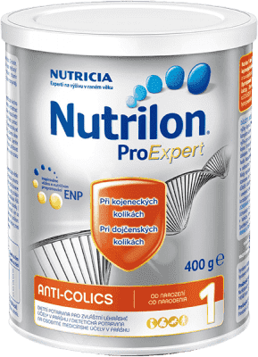 NUTRILON 1 ProExpert Colics 400g - dojčenské mlieko