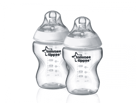 TOMMEE TIPPEE Kojenecká láhev C2N, 2 ks 260 ml, 0+ m