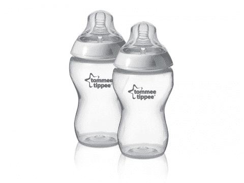 TOMMEE TIPPEE Kojenecká láhev C2N, 2 ks 340 ml, 3+ m