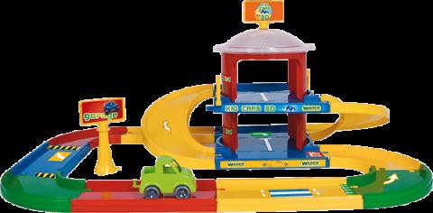 WADER Garáž Kid cars 3D 2 patra 3,4 m WADER