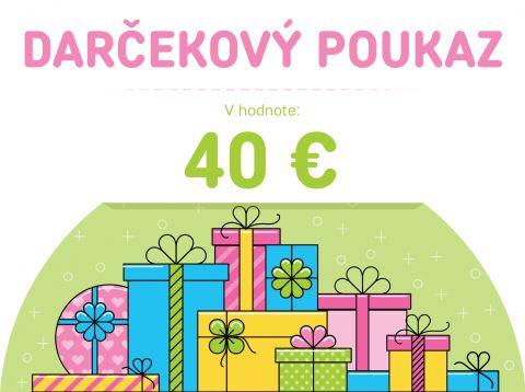 FEEDO Darčekový poukaz v hodnotě 40 €