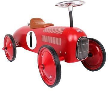 VILAC Kovové odrážedlo - Historické závodní auto - červené