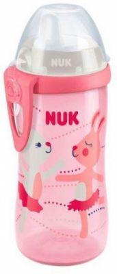 NUK FC Kiddy Cup Dětská láhev 300 ml - růžová