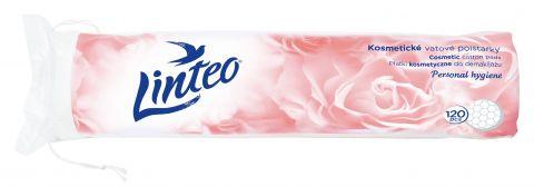 LINTEO Satin Kosmetické odličovací polštářky 120 ks