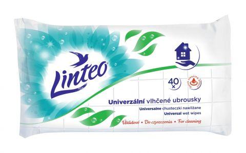 LINTEO Satin Univerzální vlhčené ubrousky 40 ks, 1 vrstvé
