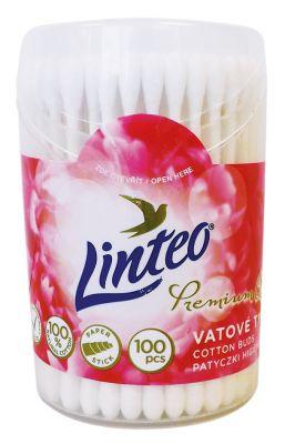 LINTEO Elite Vatové tyčinky 100 ks, dóza