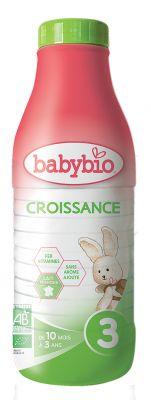 BABYBIO Croissance 3 růstové mléko tekuté 1l