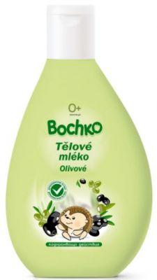 BOCHKO Dětské tělové mléko s olivovým olejem a panthenolem 200 ml